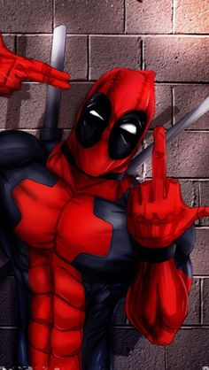 Trendy deadpool wallpaper iphone funny More at alishawallpaper. Deadpool Y Spiderman, Deadpool Funny, Deadpool Quotes, Deadpool Tattoo, Deadpool Costume, Deadpool Movie, Deadpool Wallpaper, Avengers Wallpaper, Male Character