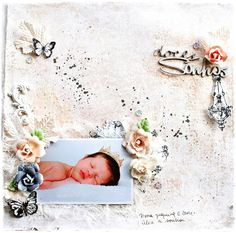Doces Sonhos - Scrapbook.com - Made with Prima's Epiphany collection.
