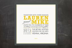 COCKTAIL HOUR Wedding Invitations by Ariel Rutland at minted.com