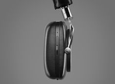 Bowers and Wilkins P5 wireless #headphones sidepad. @bowerswilkins