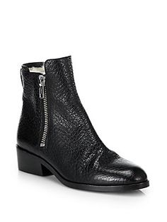3.1 Phillip Lim Alexa Leather & Shearling Ankle Boots