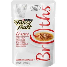 Fancy Feast Broths for Cats ** Visit the image link more details.