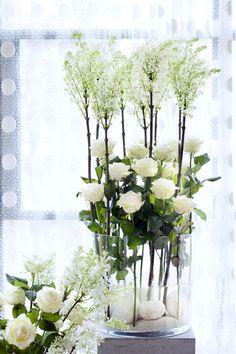 Rosen im klassischen Weiß.  #tollwasblumenmachen #rosen #rose #bouquet