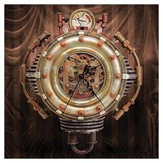Cool steampunk clocks for your geeky home