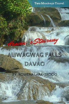HEAVEN'S STAIRWAY IN THE ALIWAGWAG FALLS, DAVAO. #TravelGuide #Davao #AliwagwagFalls #TwoMonkeysTravelGroup