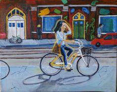 Bike riding in Toronto