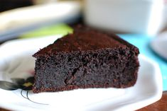 This flourless chocolate cake is everything you've ever wanted in a dessert.