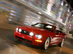 2005 Ford Mustang Convertible - Photo Courtesy of Ford Motor Company