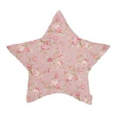 Numero 74 Mix Pink Star Cushion - Pink Floral (Small) - Growing Footprints Scandinavian Kids Interiors