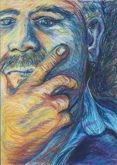 Pastel Drawing by Ilze Vermaak
