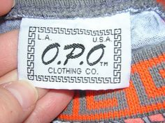 Vintage T-shirts, Clothing Tags, Orange Grey, Aztec, Usa, Clothes, Outfits, Clothing, Kleding