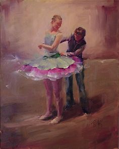 Supporting Character by Lori Twiggs Oil ~ 20 x 16