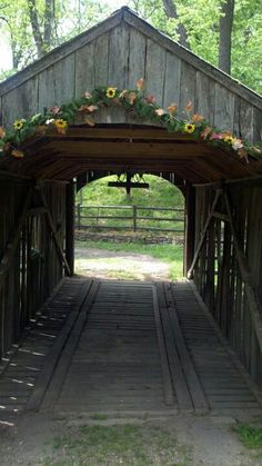 Covered bridge in Madison County