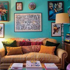 Fermoie York Stripe - interior design by Carolyn Benson #florenceandthemachine #upholstery #gooddesign #interiors
