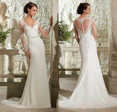 robe de mariée dos en forme de coeur