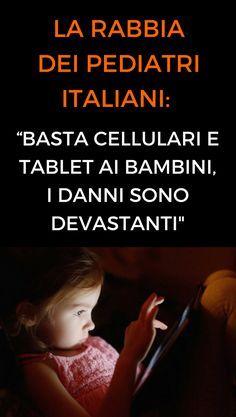 #bambini #dipendenza #tecnologia #salute #animanaturale
