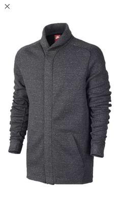 e0b09d89d03c Nike NSW Tech Fleece Jacket Charcoal Heather Black sz XL  805164-071  New