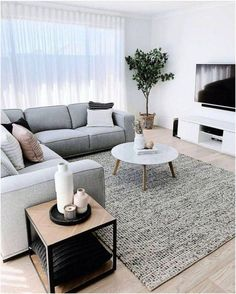 25 Gorgeous Living Room Color Schemes to Make Your Room Cozy - Delight living r. - 25 Gorgeous Living Room Color Schemes to Make Your Room Cozy – Delight living room color ideas g - Living Room Color Schemes, Minimalist Living Room Furniture, Living Room Decor Apartment, Minimalist Living Room, Room Interior, Home Decor, Apartment Decor, Living Room Grey, Living Design