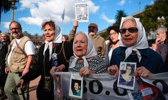 The Mothers of Plaza de Mayo march against the military commanders who had planned the systematic murder of thousands. Young People, Real People, Cristina Fernandez, Aliens History, Military Couples, Truth And Justice, Second World, How To Speak Spanish, Former President