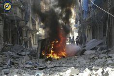 Battle for besieged Syrian city of Aleppo intensifies | news | matiastanea.gr