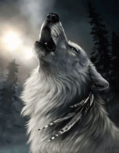 Candida Tormora Orta on You are a loner, You are just a wolf, In your chest Fire of the gods. Anime Wolf, Wolf Spirit, My Spirit Animal, Spirit Animal Tattoo, Wolf Tattoos, Lone Wolf Tattoo, Native American Wolf, Wolf Artwork, Wolf Painting