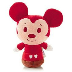 Hallmark Valentine's Day 2014 VTD1429 Disney Happy Hearts Mickey Itty Bitty Plush *** Click on the image for additional details. (This is an affiliate link) #Puppets