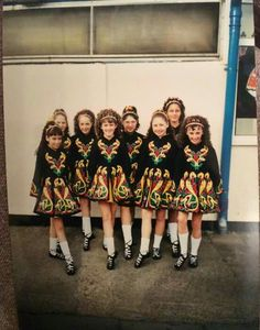 Traditional team costumes