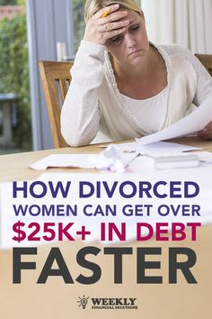 Has divorce left you struggling with too much debt? There's a smarter way for divorced women to overcome $25K+ in debt. Freedom Debt Relief is designed for people struggling to make minimum credit card payments. In this flexible program, our trained negotiators help clients settle debts with creditors for a fraction of what they owe. The best part is that fees are not collected until the debt is negotiated. Answer a few questions to see if you qualify.