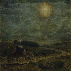Flight into Egypt by Henry Ossawa Tanner / American Art