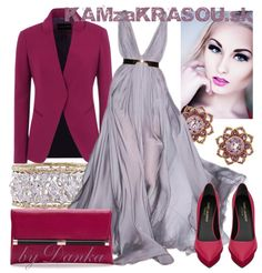 Žiarivá bordová a chladná fialová - KAMzaKRÁSOU.sk  #kamzakrasou #sexi #love #jeans #clothes #coat #shoes #fashion #style #outfit #heels #bags #treasure #blouses #dress