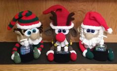 Ravelry: Santa Sniffle Station pattern by Michelle Moore