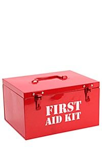 LARGE FIRST AID BOX Mr Price Home, First Aid Kit, Simple House, Bathroom Storage, Laundry Basket, Toy Chest, Storage Chest, Room Decor, Box
