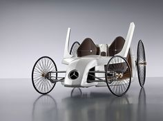Back to the Future!  MB F-Cell Roadster