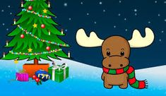 Merry Christmas Wishes Merry Christmas Pictures, Christmas Moose, Cute Christmas Tree, Merry Christmas Wishes, Very Merry Christmas, Christmas Decorations, Christmas Artwork, Santa Pictures, Christmas Angels