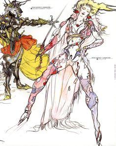 Yoshitaka Amano - Final Fantasy
