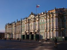 State Hermitage Museum and Winter Palace St. Petersburg, Russia