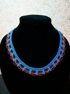 free necklace pattern -- bead weaving