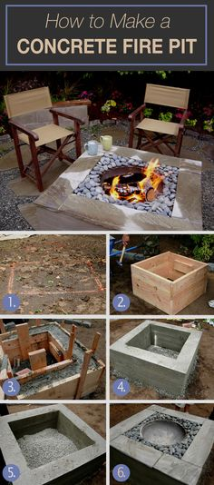 A list of firepits that you can easily make with these amazing tutorials. Upgrade your garden with those great firepits. Check out the list and you will find what you are looking for. #firepit #garden #DIY #summer