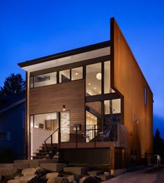 Chadbourne + Doss Architects Modern Wood Paneled House in Seattle, Remodelista
