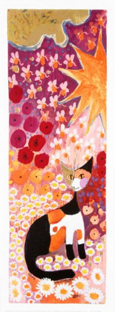 Colorful Flower I by Rosina Wachtmeister