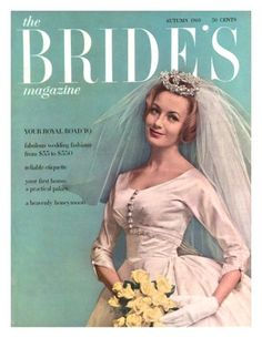 The Bride S Magazine August 1960