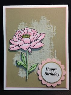 You've Got This, Birthday Card, Stampin' Up!, Rubber Stamping, Handmade Card