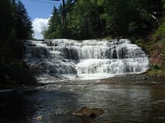 Agate Falls Upper Michigan-been here & absolutely love it there!!
