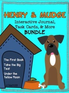 Do you want materials to supplement your Journey Reading Series? This Henry and Mudge: Discount Bundle packet has task cards, reading comprehension worksheets, and interactive journal printables (foldables). $