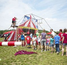 #throwbackthursday to our portable trapeze several years ago! It's that season again! Book the trapeze with us today!  #circuslife #tbt #cincinnaticircus #ohio #talent #entertainment #trapeze #portable #fun #awesome #performance #entertainer #event #talented #school #show #circus #company #trapezeclass #amazing (view on Instagram http://ift.tt/26yBTux)