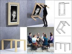 Ivydesign » Picture frame table