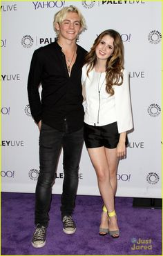 Laura Marano & Ross Lynch Walk The Carpet Together for 'Austin & Ally' Paley Center Screening