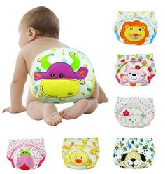 Wholesale Baby Training Pants Infant Pants Lovely Shorts 3 Layers Fully Protect Free Shipping