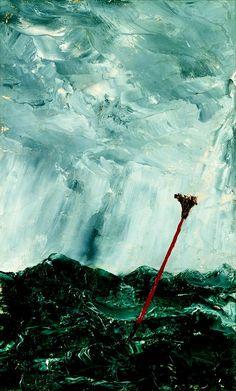 August Strindberg: Stormy Sea. Broom Buoy, 1892