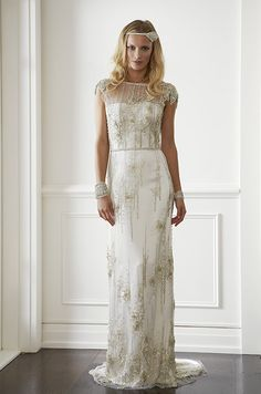 The Golden Age Wedding Dress Collection by Lisa Gowing. Millicent dress